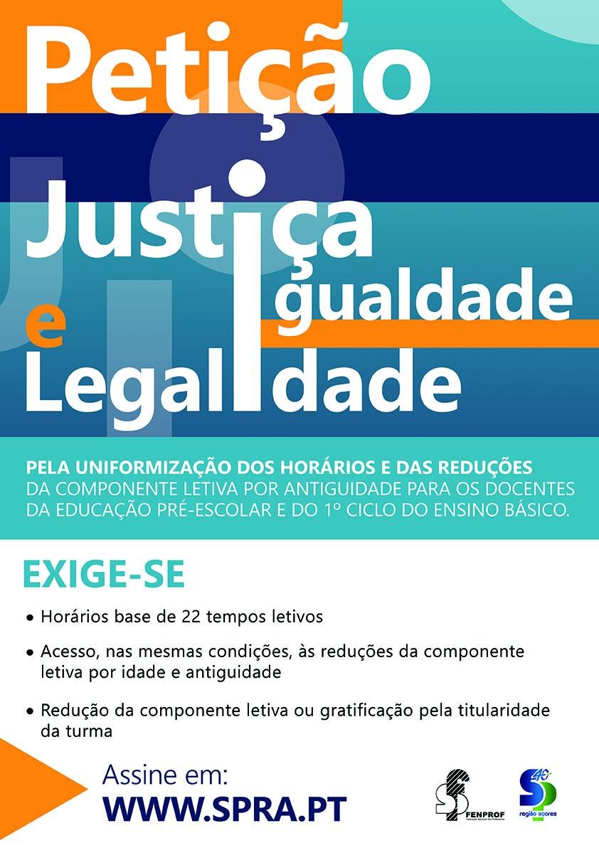 Cartaz Spra Petição net